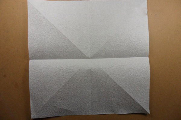 Ангел из бумаги в технике оригами (4)