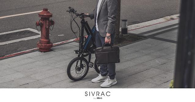imiro 電動自行車,人行道摺疊牽行