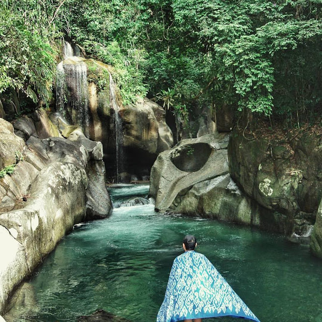 Air Terjun Nyarai Kabupaten Padang Pariaman Sumatera Barat