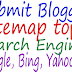 How To Submit Blogger Sitemap To Search Engines