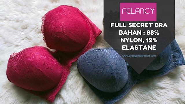 Full Secret Bra dari Felancy