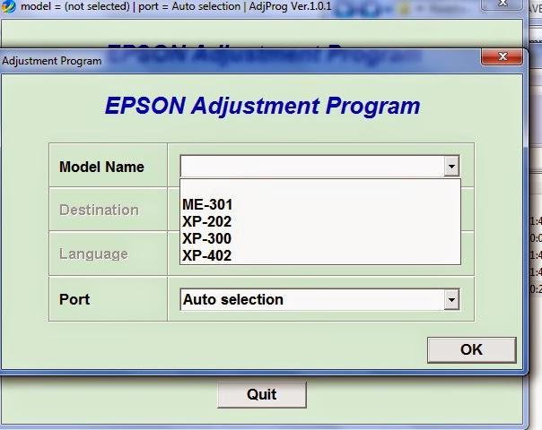 Adjustment Program Epson Xp - hooknewline