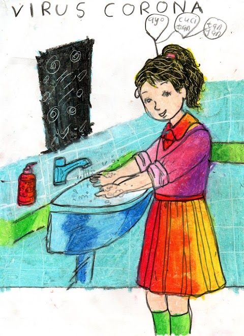 ayo kita cuci tangan