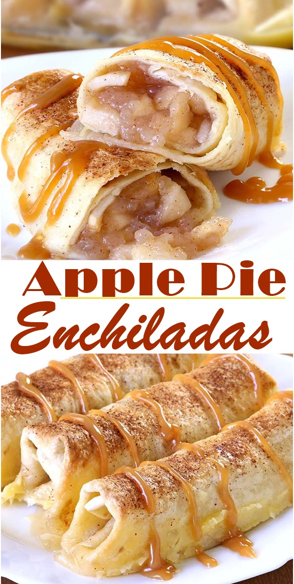 Apple Pie Enchiladas #dessertrecipes