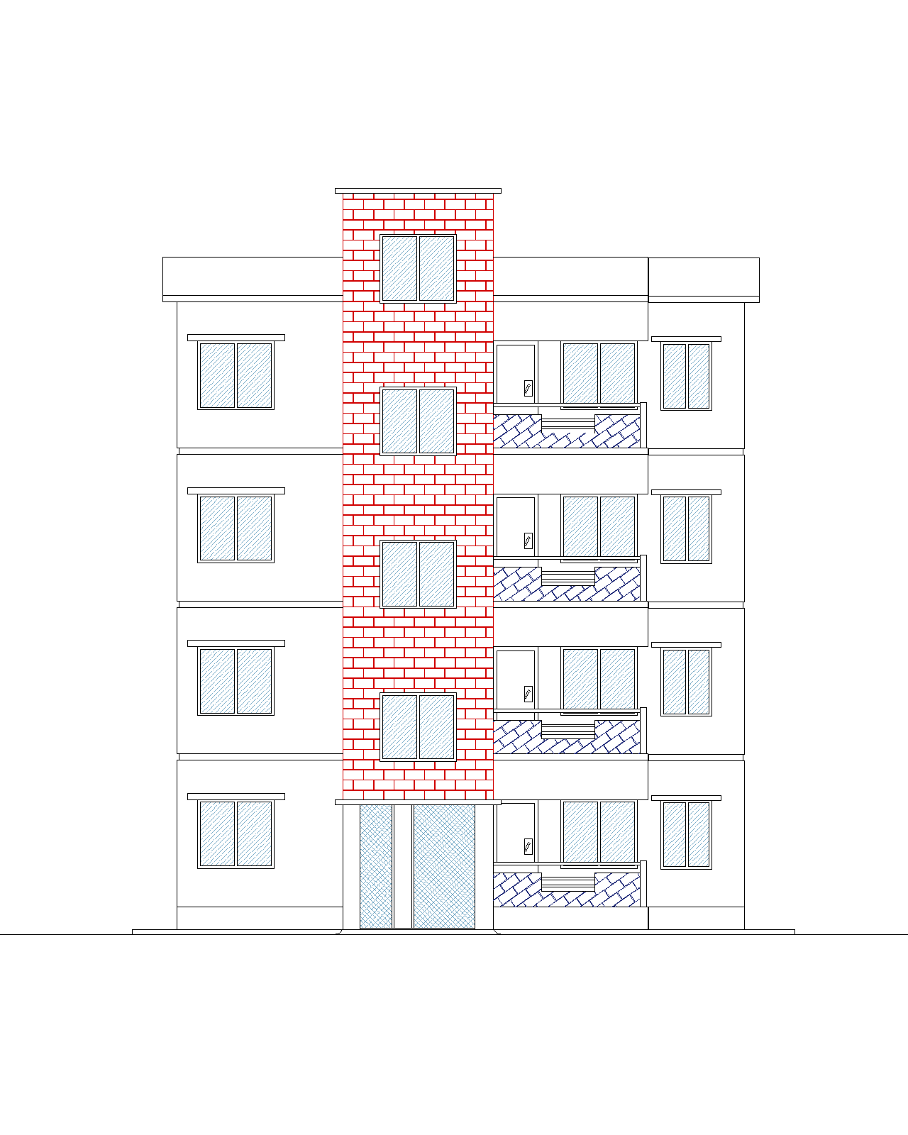 Draw Front Elevation in AutoCAD