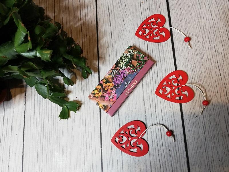 Sephora paleta cieni do powiek Fresh Florals