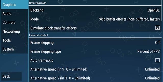 طريقة تسريع محاكي PPSSPP وحل نهائى لمشكلة التقطع فى تطبيق PPSSPP مع افضل اعدادات لجميع الالعاب