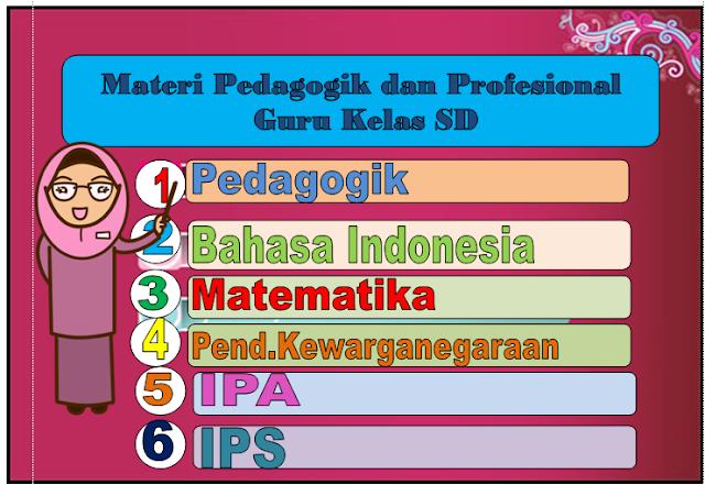 Materi Kompetensi Pedagogik dan Profesional guru kelas SD Tahun 2017 ... 1198eac062f3d