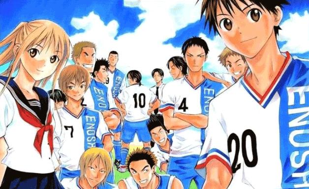 Area no Kishi - Daftar Anime Sport terbaik Sepanjang Masa