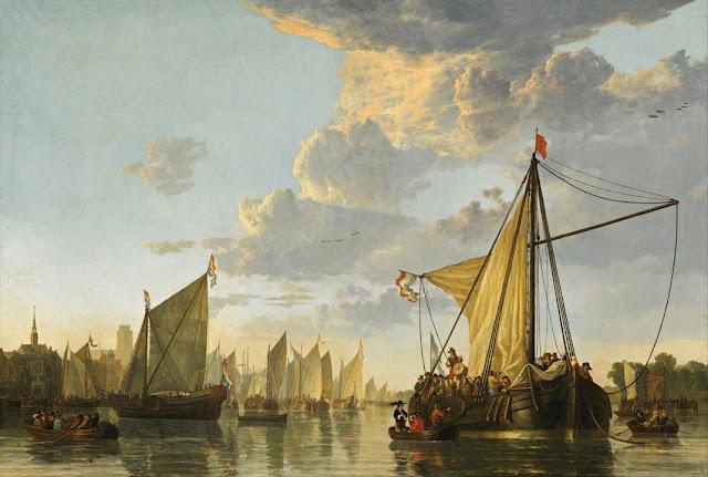 Альберт Кёйп - Маас в Дордрехте. ок1650