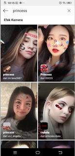 Filter Princess instagram | Cara dapatkan princess filter instagram
