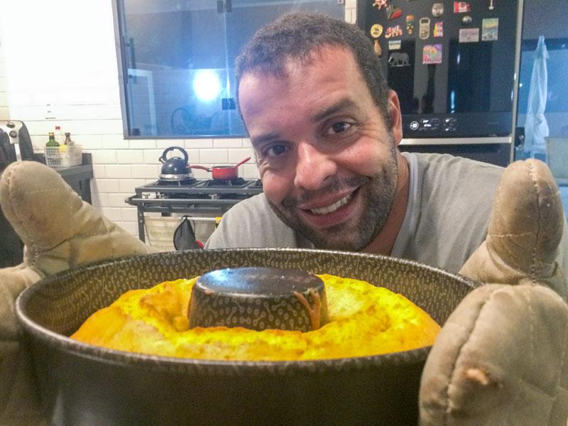 A Vida de Cozinheiro do meu maridão Thiago Inter.