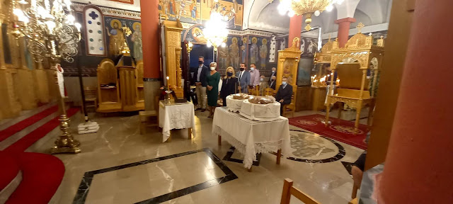 Στην Ήρα γιόρτασαν τον Άγιο Γεώργιο