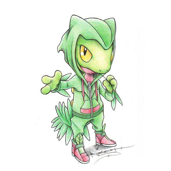 Pokémon by Review: #252 - #254: Treecko, Grovyle & Sceptile