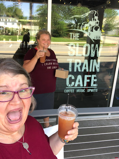 2021 Slow Train Cafe, Earl Grey Iced Tea with Lavender, Oberlin OH