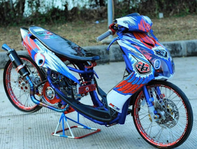 Modifikasi Racing Mio Soul