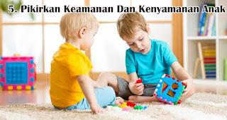 Pikirkan Keamanan Dan Kenyamanan Anak merupakan salah satu tips memilih kado natal untuk anak-anak