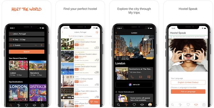 Hostelworld - Hostels & Backpacking Travel App