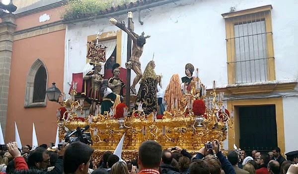 Horario e Itinerario Traslado de Titulares Hermandad del Amor al convento de Santa María de Gracia. Jerez de la Frontera 21 de Agosto del 2021