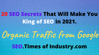 20 SEO Secrets That Will Make You King of SEO in 2021.