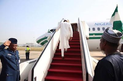President Buhari departs Nigeria for London Friday