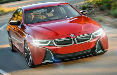 Next Gen 2018 BMW 3 Series red Hd Pictures 01
