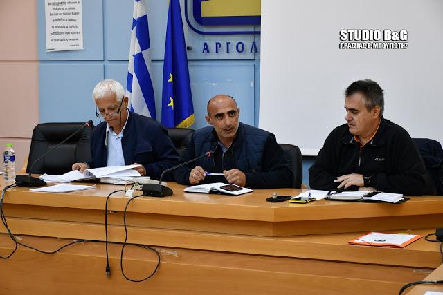 Σύσκεψη στο Ναύπλιο του Συντονιστικού Τοπικού Οργάνου ενόψει της νέας αντιπυρικής χρονιάς