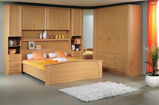 Chambre coucher bois massif lit en bois massif avec tte for Modele de chambre a coucher en bois massif
