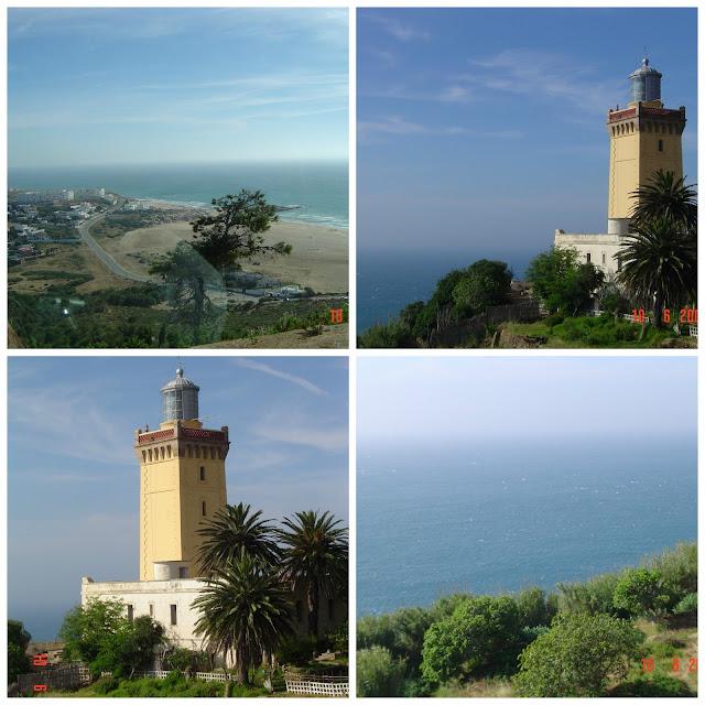 Cabo Espartel - encontro do Mar Mediterrâneo com o Oceano Atlântico - Marrocos
