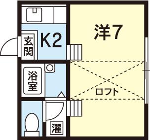 徳島市 常三島 住吉 デザイナーズ 1K