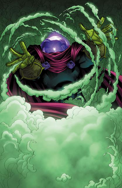 Mysterio villano de Spiderman
