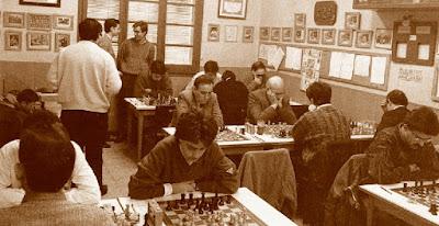 Sala de juego del C. C. Sant Andreu en 1987