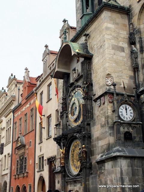 El reloj de Praga