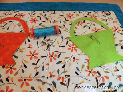blue thread for quilting