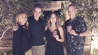 image result for Tom Hanks and wife Rita Wilson become Greek citizens