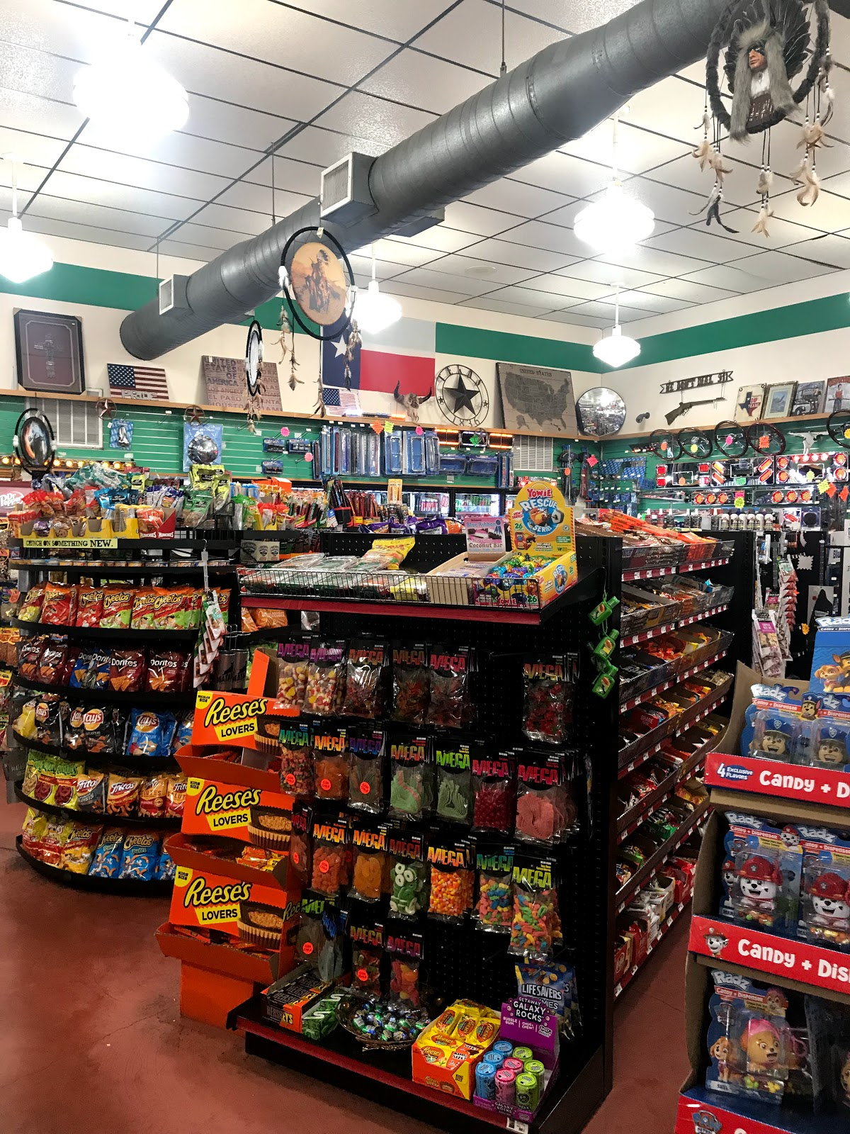 Image: Inside gas station..picture taken by tangie bell and shared on bits and Babbles blog