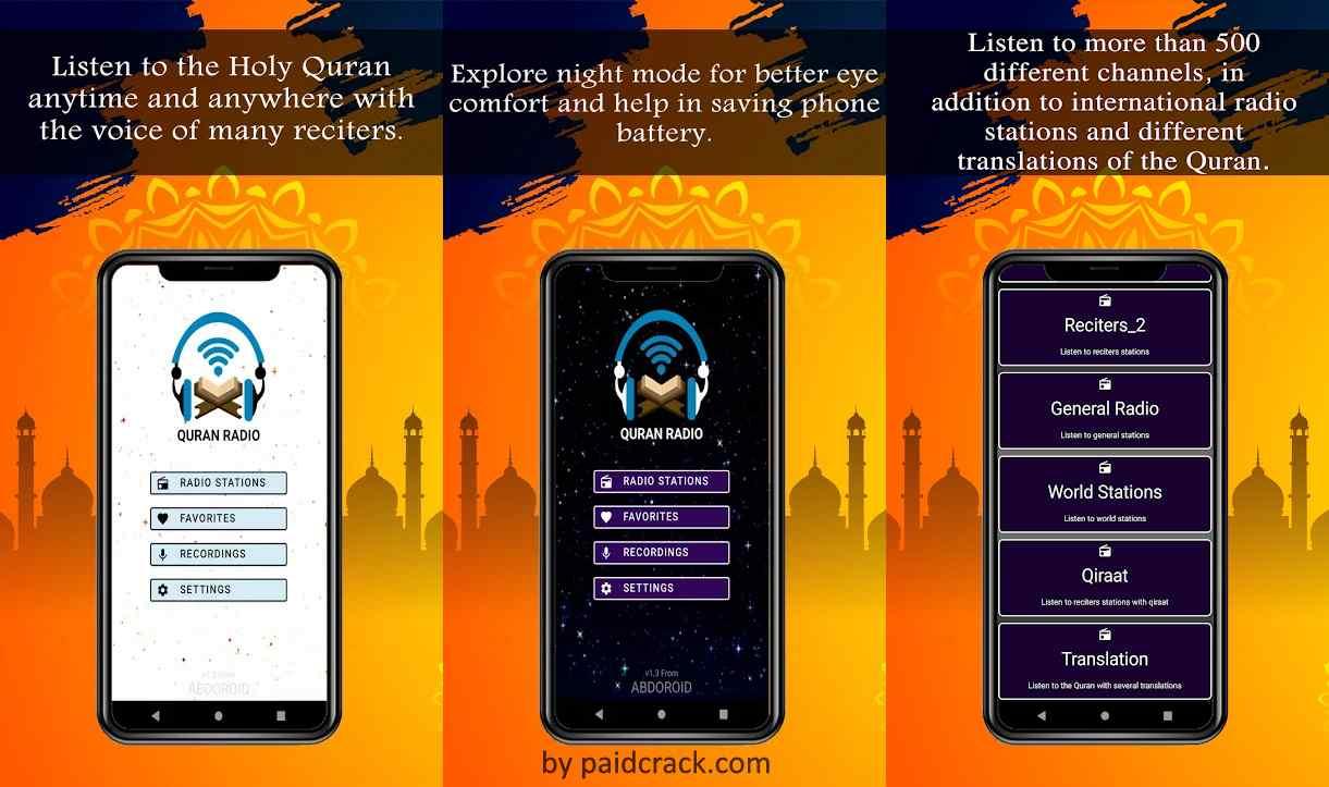 Quran Radio (Gold) Apk 2.2 [Paid]