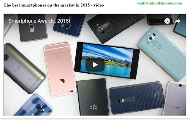 The best smartphones on the market in 2015
