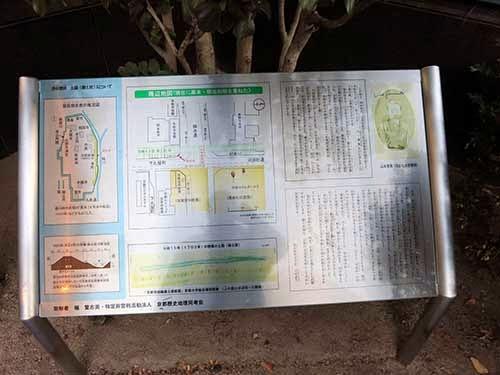 山本覚馬・八重邸跡