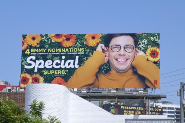 Special season 1 Emmy nominee billboard