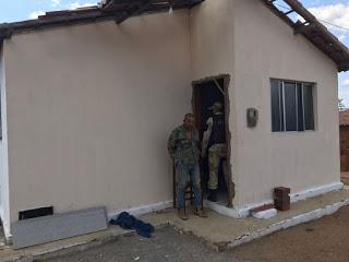 Operação Sertão, sob comando do major Brilhante, prende suposto traficante de drogas na zona rural de Messias Targino