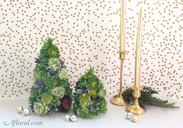 DIY, Succulents, Christmas, crafts, decor, seasonal, holiday crafts, holidays