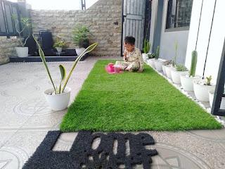 Taman di dalam rumah untuk bermain anak