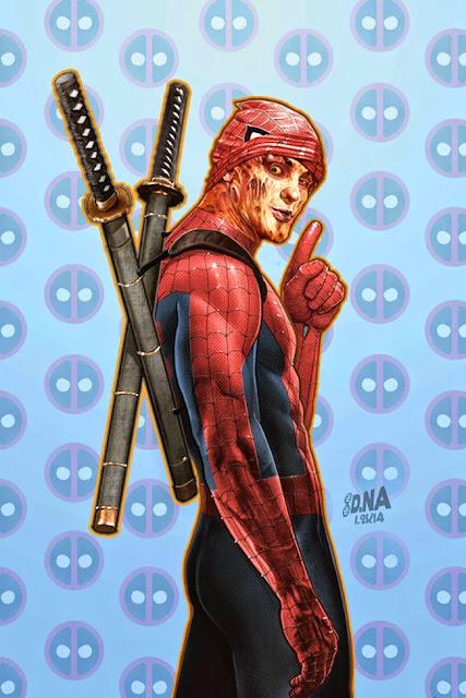 Ilustraciones de superhéroes