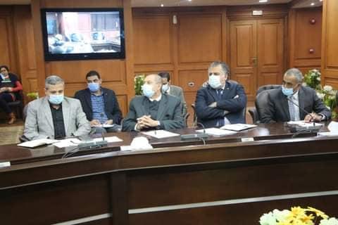 وزير الرياضة   يبحث آخر الاستعدادات الطبية للمونديال اليد ٢٠٢١