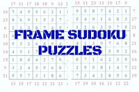 Frame Sudoku Puzzles Variations