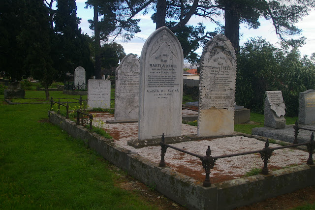 Nebel family plot at Thomastown formerly Westgarthtown Lutheran cemetery