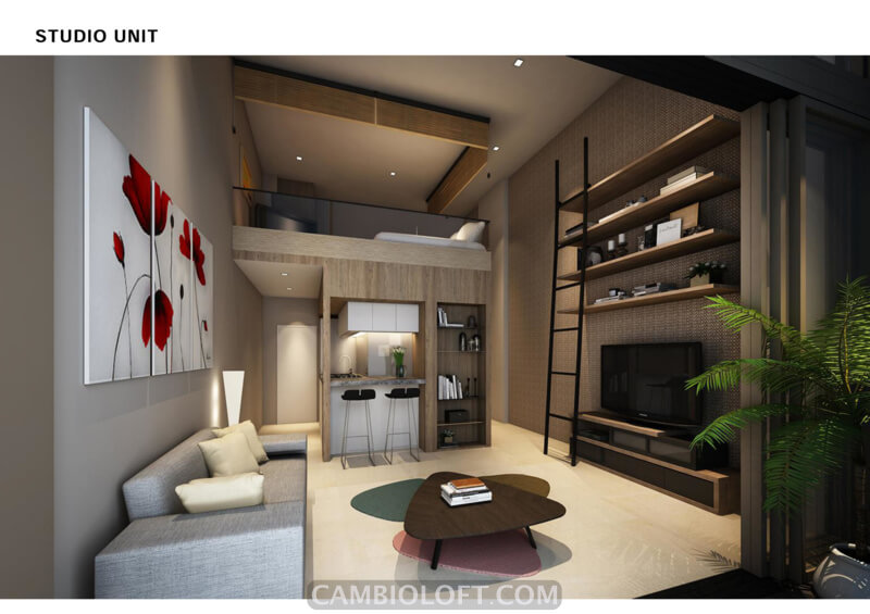 Studio Type Cambio Lofts Alam Sutera Apartment
