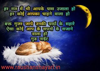 Good night shayari in hindi Image for good night shayari 2020 top 20 shayari
