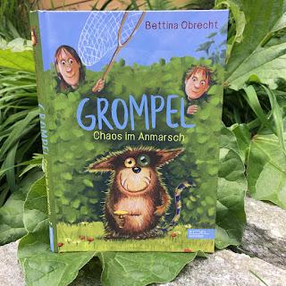Grompel – Chaos im Anmarsch Autorin: Bettina Obrecht Illustrationen: Henning Löhlein Verlag: Edel Kids Books